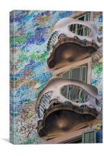 Gaudi Style, Canvas Print