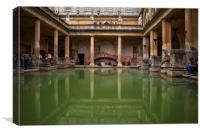 Roman Bath, Canvas Print
