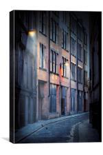 Empty Street, Canvas Print
