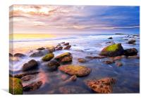 Filey Brigg, Canvas Print