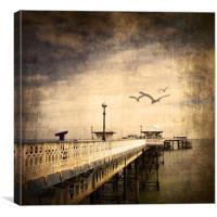 Pier , Canvas Print