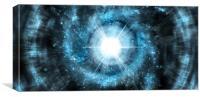 Planet Explosion, Canvas Print