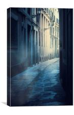 Night Street, Canvas Print