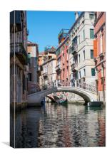 Living in Venice, Canvas Print