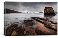 Kleifarvatn Lake, Canvas Print