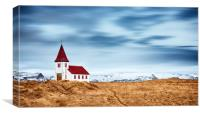 Little Pretty Church, Canvas Print