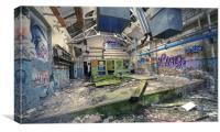 Destroyed Room, Canvas Print