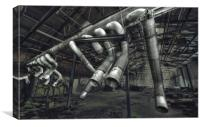 Pipes, Canvas Print
