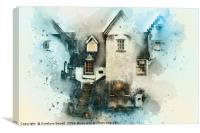 Old House, Canvas Print