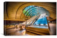 Architecture of Canary Wharf, Canvas Print