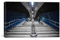Underground Stair, Canvas Print
