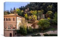 Spanish landscape, Canvas Print