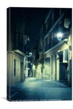 Night Street, Canvas Print
