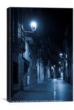 Blue Light, Canvas Print