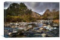 Cumbria Landscape, Canvas Print