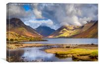 Landscape of Cumbria, Canvas Print