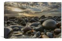 Pebble Beach Westward Ho!, Canvas Print