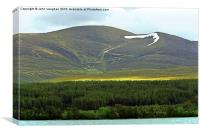 Across Loch Morlich to Cairn Gorm, Canvas Print