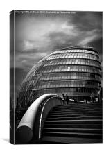 London City Hall, Canvas Print