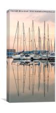Evening at Shoreham Yacht Club, Canvas Print