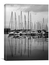 Shoreham Yacht Club, Canvas Print