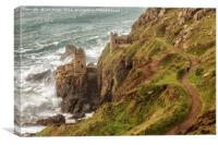 Botallack Mine, Cornwall, Canvas Print