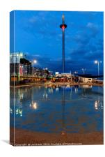 Brighton British Airways i360, Canvas Print