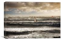Windsurfers, Canvas Print
