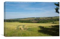 Darenth Valley, Canvas Print