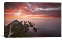 Nugget Point Lighthouse, Canvas Print