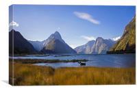 Milford Sound, Canvas Print