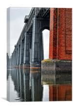 Tay Rail Bridge, Canvas Print