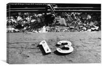 Railway Track , Canvas Print