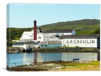 Lagavulin Distillery, Canvas Print