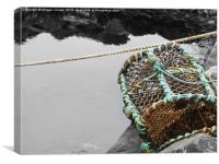 Lobster Creel , Canvas Print