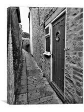 Secret Doorway, Canvas Print