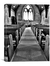 Salwayash Church - Dorset, Canvas Print