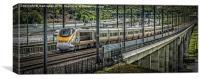 Eurostar Raillink, Canvas Print