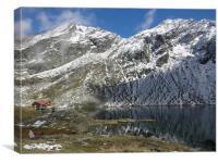 Balea Lac landscape
