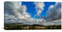 Wallace monument , Canvas Print