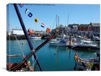 Padstow May Day, Canvas Print