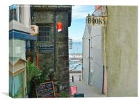 Tenby, Ancient and Modern. , Canvas Print