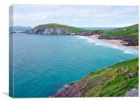Coumeenoole Bay, DINGLE, IRELAND, Canvas Print