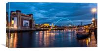 Baltic on the Quayside, Canvas Print