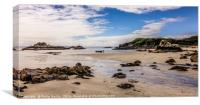 Postcard from Mull................, Canvas Print