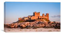Beautiful Bamburgh Castle...., Canvas Print