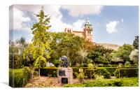 The Monastery at Valldemossa, Canvas Print