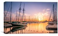 Magical Marina Rubicon , Canvas Print