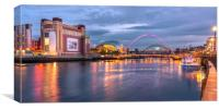 Night on the Toon, Canvas Print