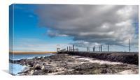 Taking Refuge on Lindisfarne, Canvas Print